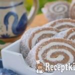 Gesztenyés kókusztekercs sütés nélkül - paleo 2