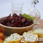 Grillezett csípős tőkehalfilé kapros túrós palacsintával - paleo