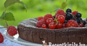 Gyors csokis pite liszt nélkül – paleo