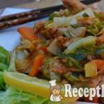 Köményes serpenyős csirke kínai kellel - paleo 1