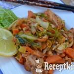 Köményes serpenyős csirke kínai kellel - paleo