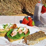 Lenmagos szendvicskenyér 1