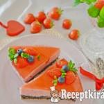 Mákos epres torta - paleo 1