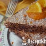 Narancsos csokis diós habcsóktorta - paleo 2