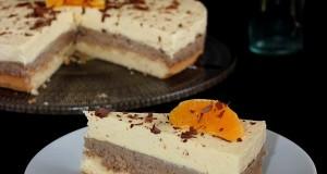 Narancsos-gesztenyés torta