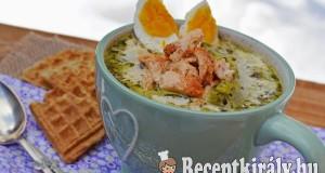 Póréhagyma leves csirkével – paleo
