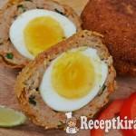 Skót tojás és karfiol puffancs - paleo 2