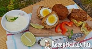 Skót tojás és karfiol puffancs – paleo