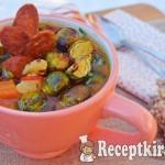 Sült kelbimbó leves édesburgonyával és kolbásszal - paleo