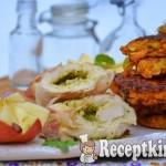 Szalonnába tekert pestós csirke édesburgonya tallérokkal 1