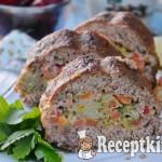Zöldséges fasírt szelet - paleo
