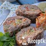 Zöldséges fasírt szelet - paleo 2