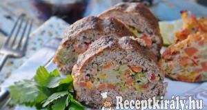 Zöldséges fasírt szelet – paleo