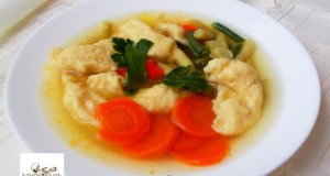 Zöldséges leves sajtgaluskával