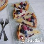 Erdei gyümölcsös hamis sajttorta 1