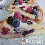 Erdei gyümölcsös hamis sajttorta 2