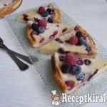 Erdei gyümölcsös hamis sajttorta 3