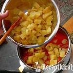 Paradicsomos krumplifőzelék 2