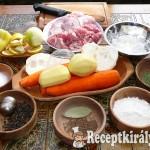 Tárkonyos pulykaaprólék leves 1