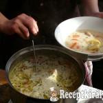 Tárkonyos pulykaaprólék leves 3