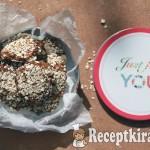 Almás-zabpelyhes puha kekszek proteinnel 2
