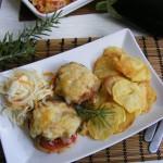Mediterrán csirkemell burgonya chips-el 2