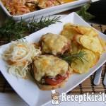 Mediterrán csirkemell burgonya chips-el 3