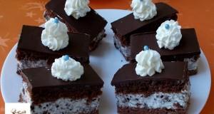 Oreo kekszes, fehér csokoládés mascarponés krémes