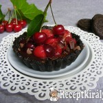 Cseresznyés-csokis mini pite sütés nélkül 1