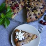 Cseresznyés-csokoládés joghurtos pite 2