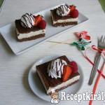 Csokoládés-túrókrémes kocka 3