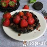 Epres-oreós-csokoládés minipiték sütés nélkül 1
