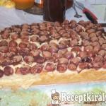 Kukoricadarás cseresznyés süti 2