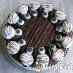 Oreós, joghurtos Túró Rudi torta 1