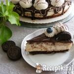 Oreós, joghurtos Túró Rudi torta 2