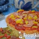 Tojás pizza 2