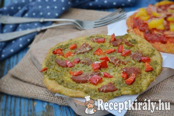 Tojás pizza