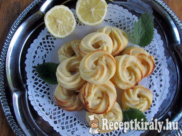 Citromos karika - gluténmentesen