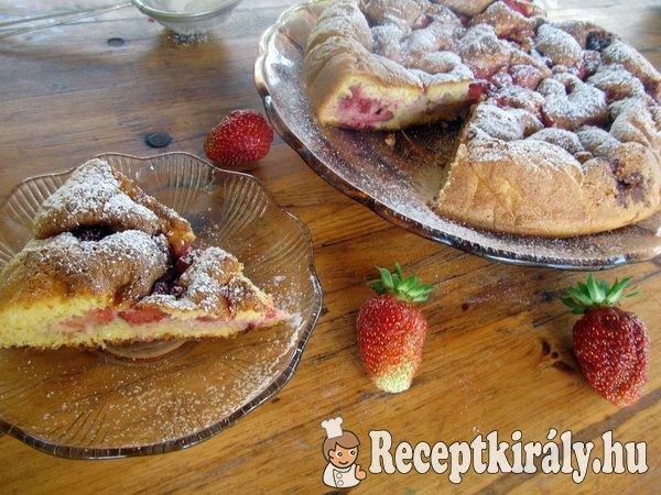 Epres piskóta torta liszt nélkül