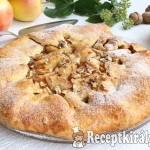 Rusztikus almás pite 1