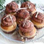 Márványos muffin csokoládékrémmel 1