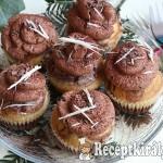 Márványos muffin csokoládékrémmel 3