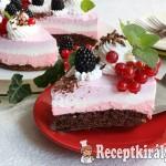 Gyümölcsös túrókrém torta 1