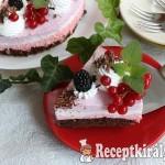 Gyümölcsös túrókrém torta 2