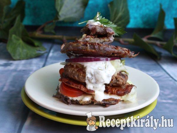 Lila burger