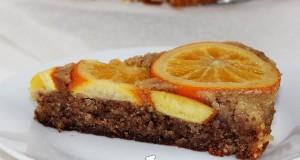 Fordított narancstorta (gluténmentes)