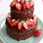 Túrókrémes csokoládétorta 2