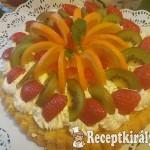 Gyümölcs torta Marcsi konyhájából 1