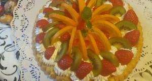 Gyümölcs torta Marcsi konyhájából