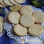 Citromos sütipecsétes keksz 2
